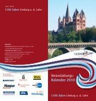 1100 Jahre - MeetingCity - Limburg.