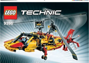 Lego Helicopter - 9396 (2012) - Helicopter 9396 Twin-Rotor Helicopter
