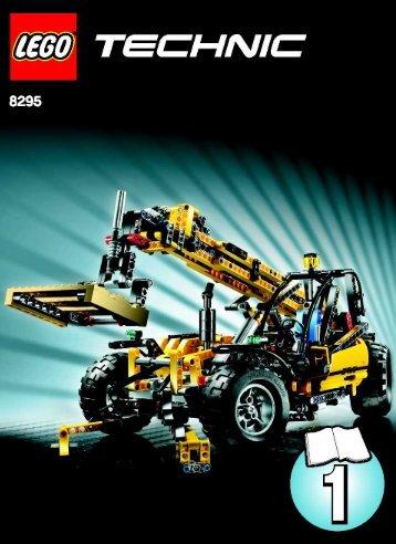Lego Telescopic Handler - 8295 (2008) - Tow Truck BI - 8295 - MODEL 1 - 1/3