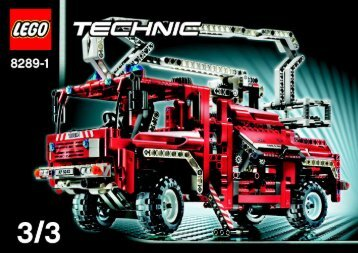 Lego Fire Truck - 8289 (2006) - Tow Truck BI - 8289 - MODEL 1 - 3/3