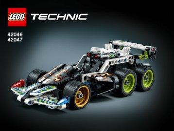 Lego Police Interceptor - 42047 (2015) - Race Truck Extreme Police Racer