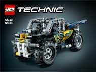 Lego Record Breaker - 42033 (2014) - Cherry Picker 42033 + 42034 Extreme Off-Roader