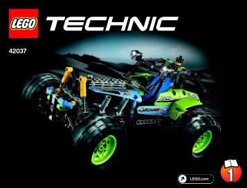 Lego Formula Off-Roader - 42037 (2015) - Cherry Picker BI 3019/72+4*- 42037 V29/V39 1/2