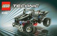 Lego Off-Roader - 8066 (2011) - Mobile Crane BI 3004/48 - 8066 1/2
