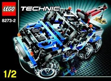 Lego Off-Road Truck - 8273 (2007) - Snow Mobile BI. - 8273 MODEL 2. 1/2