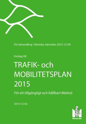 TRAFIK- och MOBILITETSPLAN 2015