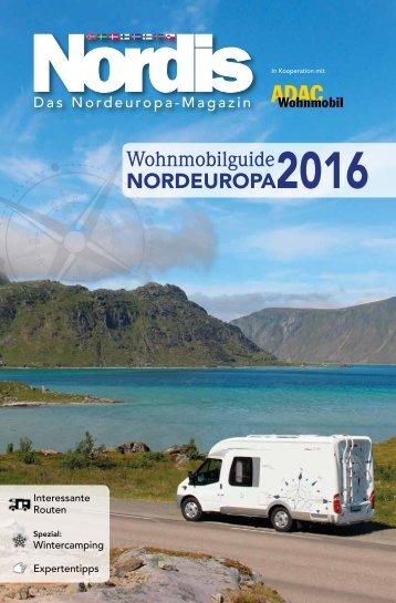 Nordis Wohnmobilguide Nordeuropa 2016 - ADAC Wohnmobil