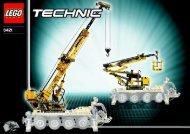 Lego Mobile Crane - 8421 (2005) - Off Roader BYGGEVEJLEDNING, 8421/2