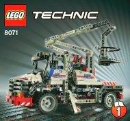 Lego Bucket Truck - 8071 (2011) - Mobile Crane BI 3005/80+4 - 8071 1/4