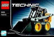 Lego Mini Loader - 8418 (2005) - Off Roader BYGGEVEJLEDNING  8418 -1