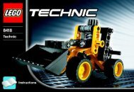 Lego Mini Loader - 8418 (2005) - Off Roader BYGGEVEJLEDNING  8418 -2