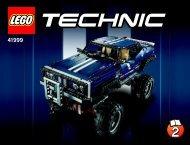 Lego 4x4 Crawler Exclusive Edition - 41999 (2013) - JUMPING TRIKE BI 3019/76+4*- 41999 2/4