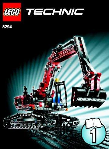 Lego Technic Bobcat >> Risk Assessment - Bobcat Excavator - M series - Version 1