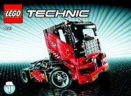 Lego Race Truck - 8041 (2010) - VP Technic BI 3006/48 - 8041 - 1/2
