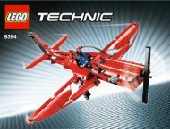 Lego Jet Plane - 9394 (2012) - Barcode Truck 9394 Aerobatic Plane