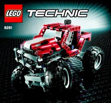 Lego Rally Truck - 8261 (2008) - Mini Bulldozer BI 3005/60 - 8261 - 1/2