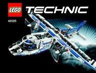 Lego Cargo Plane - 42025 (2014) - Snowmobile BI 3019 / 224+4* - 42025 BOOK V29/V39