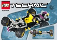 Lego Chassis Pack - 5222 (2000) - Heavy Lift Helicopter BI 5222