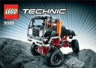 Lego 4X4 Crawler - 9398 (2012) - Helicopter 9398 Off-Road Truck #1