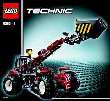 Lego Telehandler - 8283 (2006) - Snow Mobile BI - 8283 MODEL 1 - NA