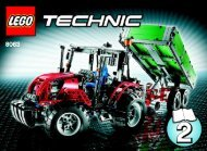 Lego Tractor with Trailer - 8063 (2009) - Mobile Crane BI 3006/80+4 - 8063 2/2