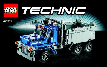 Lego Construction Crew - 42023 (2014) - Snowmobile BI 3004/72+4*- 42023 BOOK 2/3 V29/V39