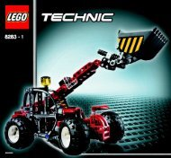 Lego Telehandler - 8283 (2006) - Snow Mobile BI - 8283 MODEL 1 IN