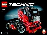 Lego Race Truck - 42041 (2015) - Race Truck BI 3006/48 - 42041 V29 2/2