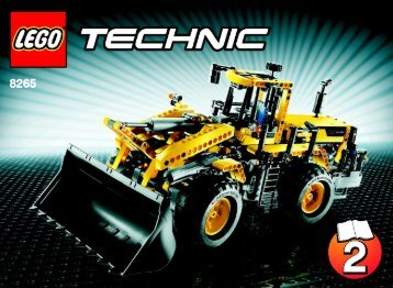 Lego Front Loader - 8265 (2009) - Mini Bulldozer BI 3006/60+4 - 8265-2/3
