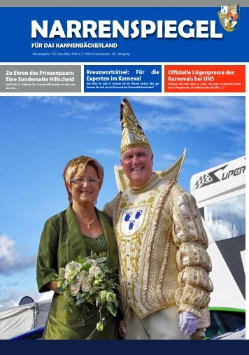 Narrenspiegel 2016 - Fastnachtszeitung für das Kannenbäckerland