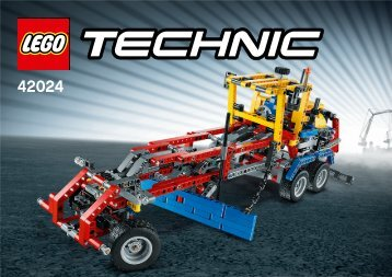 Lego Container Truck - 42024 (2014) - Snowmobile 42024 Road Grader 1/4