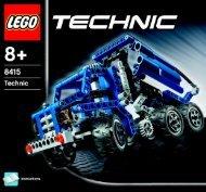 Lego Dump Truck - 8415 (2005) - Off Roader BI 8415 - 1