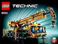 Lego Mobile Crane - 8053 (2010) - Mobile Crane BI 3009/60+4 - 8053 2/3