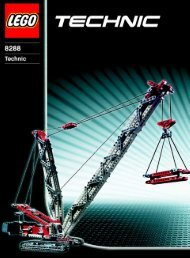 Lego Crawler Crane - 8288 (2006) - Tow Truck BI - 8288 MODEL 1 - IN