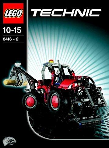 Lego Forklift - 8416 (2005) - Off Roader BI 8416/2 NA