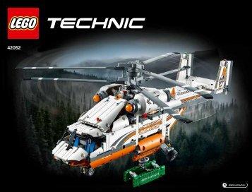 Lego Heavy Lift Helicopter - 42052 (2016) - Heavy Lift Helicopter BI 3019, 192+4/65+200G, 42052 V29/V39