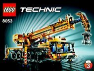 Lego Mobile Crane - 8053 (2010) - Mobile Crane BI 3009/80+4 - 8053 3/3