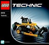 Lego Excavator - 8419 (2005) - Off Roader BI 8419 -2