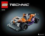 Lego Race Kart - 42048 (2016) - Race Truck BI 3018/68+4/65+115G, 42048 2/2 V29