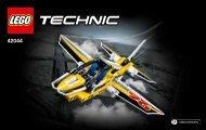 Lego Display Team Jet - 42044 (2015) - Race Truck BI 3003/48/65g, 42044 1/2 V29