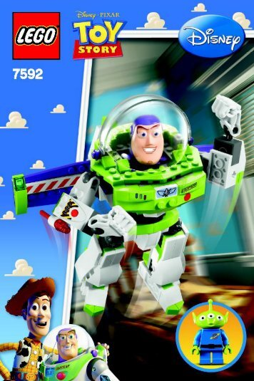Lego Construct-a-Buzz - 7592 (2010) - Woody and Buzz to the Rescue BI 3002/60+4 - 7592 V 29