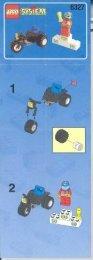 Lego Team Turbo - 6327 (1998) - Container Stacker BUILD.INS.6327 MC/ROSTRUM 3/3