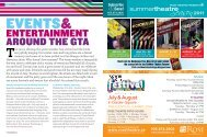 events - On The Go Magazine