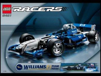 Lego WilliamsF1 Team Racer - 8461 (2002) - WilliamsF1 Team Racer 1:27 BI 8461
