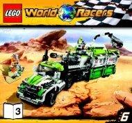 Lego Desert of Destruction - 8864 (2010) - Blizzard's Peak BI 3005/80+4 - 8864 V29 3/3