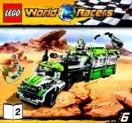 Lego Desert of Destruction - 8864 (2010) - Blizzard's Peak BI 3005/60+4- 8864 V29 2/3
