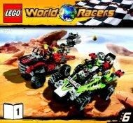 Lego Desert of Destruction - 8864 (2010) - Blizzard's Peak BI 3005/64+4 - 8864 V39 1/3