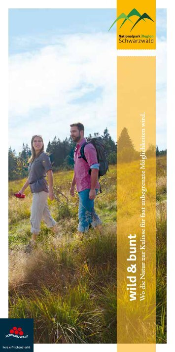 Nationalparkregion Schwarzwald - wild & bunt