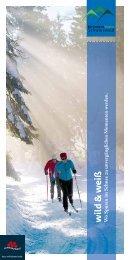 Nationalparkregion Schwarzwald - wild & weiß