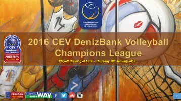 Playoff Drawing of Lots – Thursday 28 January 2016